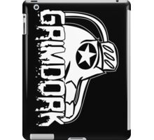 Grimdork on the side iPad Case/Skin