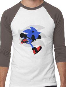 Sonic Silhouette Men's Baseball ¾ T-Shirt