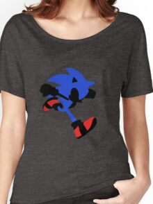Sonic Silhouette Women's Relaxed Fit T-Shirt