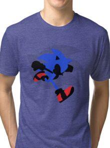 Sonic Silhouette Tri-blend T-Shirt