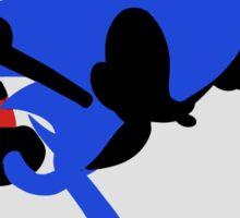 Sonic Silhouette Sticker