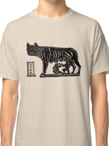 Romulus and Remus Classic T-Shirt