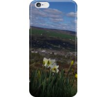 Sun on the Moors, Clouds Over Ilkley iPhone Case/Skin