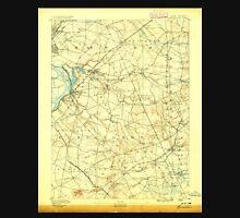 USGS TOPO Map New Jersey NJ Bordentown 255121 1888 62500 Unisex T-Shirt