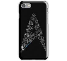 Live Long & Prosper - Star Trek Classic Doodles iPhone Case/Skin