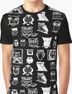 Owls 2 Graphic T-Shirt