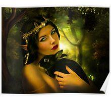 Forest Elf Poster