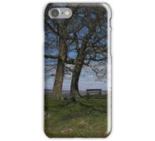 Benches and Trees, Ilkley Moor iPhone Case/Skin