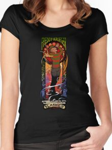The Springwood Slasher Women's Fitted Scoop T-Shirt