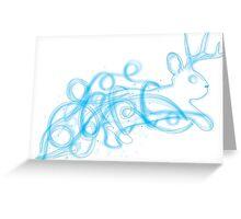 Jackalope Patronus Greeting Card
