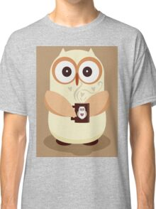 OWL AND CUPPA Classic T-Shirt
