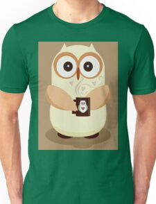 OWL AND CUPPA Unisex T-Shirt