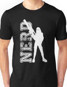 Nerd with a gun Unisex T-Shirt