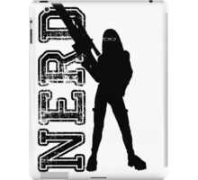 Nerd woman iPad Case/Skin
