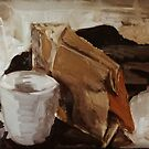Paper Bag & Mug by Juliane Porter