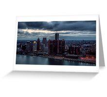 Detroit Gotham Greeting Card