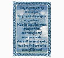 Blue Irish Blessing by Packrat