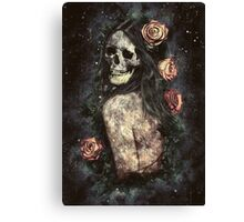 Morbid Beauty Canvas Print