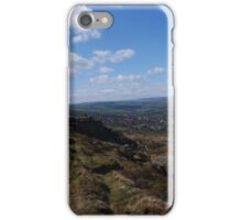 As Far as the Eye Can See, Ilkley Moor iPhone Case/Skin