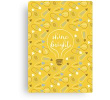 shine bright Canvas Print