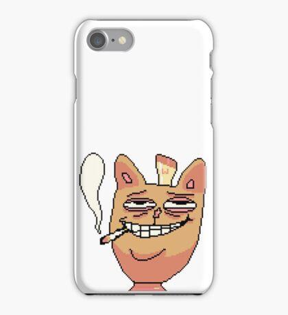 Burgerpants philosophy of life iPhone Case/Skin