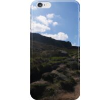 Spring Sunshine on the Tops, Ilkley Moor iPhone Case/Skin
