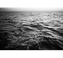 in the middle of the sea Photographic Print