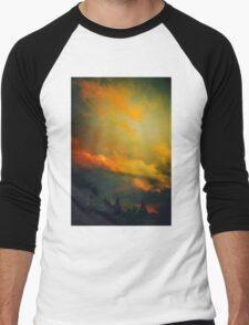 Bend Oregon: sunset Men's Baseball ¾ T-Shirt