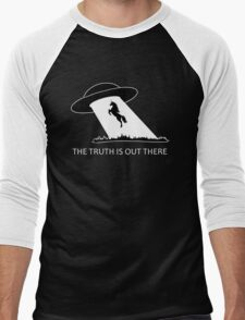 The truth is out there - Unicorn  Men's Baseball ¾ T-Shirt