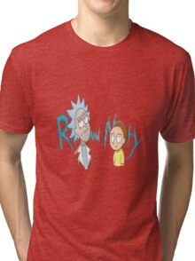 Rick and Morty Word Tri-blend T-Shirt