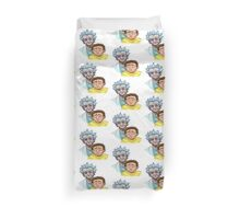 Rick and Morty zombie Duvet Cover