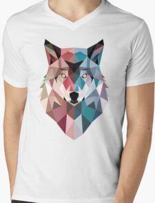 GeoWolf Mens V-Neck T-Shirt