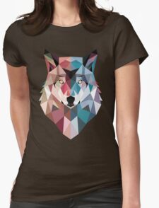 GeoWolf Womens Fitted T-Shirt