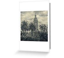San Luis Church Otavalo Ecuador Greeting Card