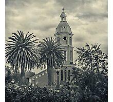 San Luis Church Otavalo Ecuador Photographic Print
