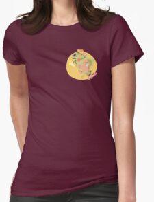 orange summer flower girl T-Shirt