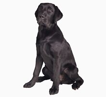 young black labrador retriever Unisex T-Shirt