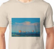 Apricot sunset Unisex T-Shirt