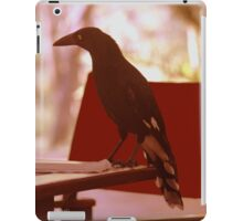 Magpie has breakfast iPad Case/Skin