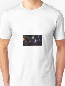 space infographic Unisex T-Shirt