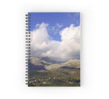 Greek mountains Spiral Notebook