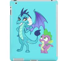 PRINCESS EMBER AND SPIKE iPad Case/Skin