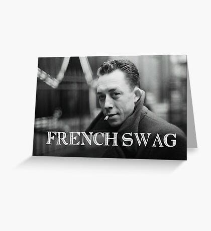 French Swag: retro Greeting Card