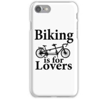 Biking is for Lovers iPhone Case/Skin