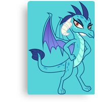 POSING PRINCESS EMBER Canvas Print