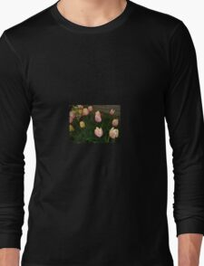 PINK AND YELLOW TULIPS Long Sleeve T-Shirt
