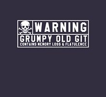 Warning Grumpy Old Git Unisex T-Shirt