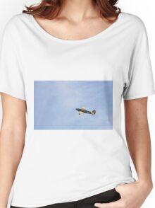 Flying Fairchild PT-26B Cornell-Single Engine Trainer  Women's Relaxed Fit T-Shirt