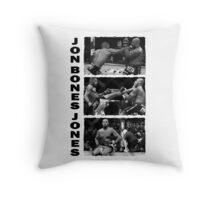 Jon Bones Jones Throw Pillow