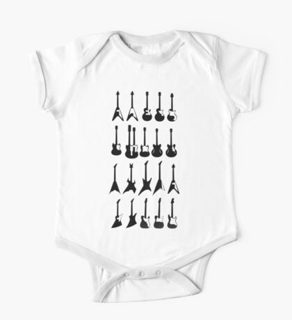 Music - Guitar Models One Piece - Short Sleeve